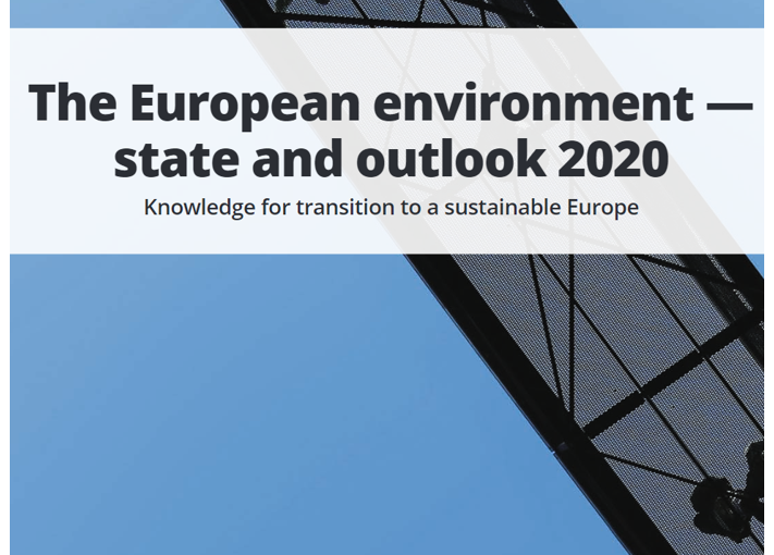 The Report on the State of the European environment 2020 has landed