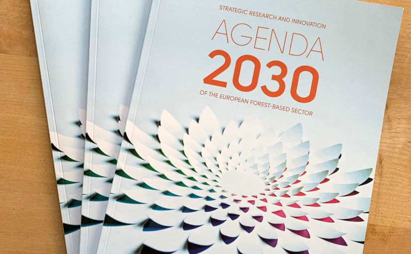 European forest-based sector launched its Strategic Research and Innovation Agenda 2030