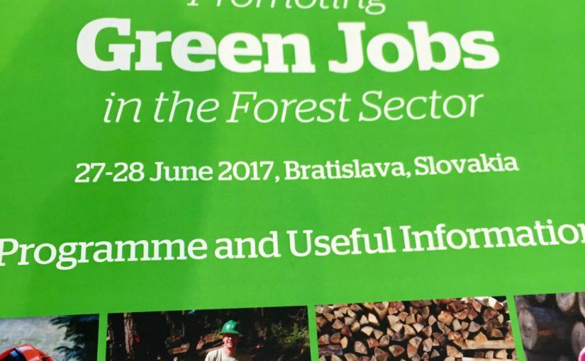 Green Jobs on the pan-European Agenda